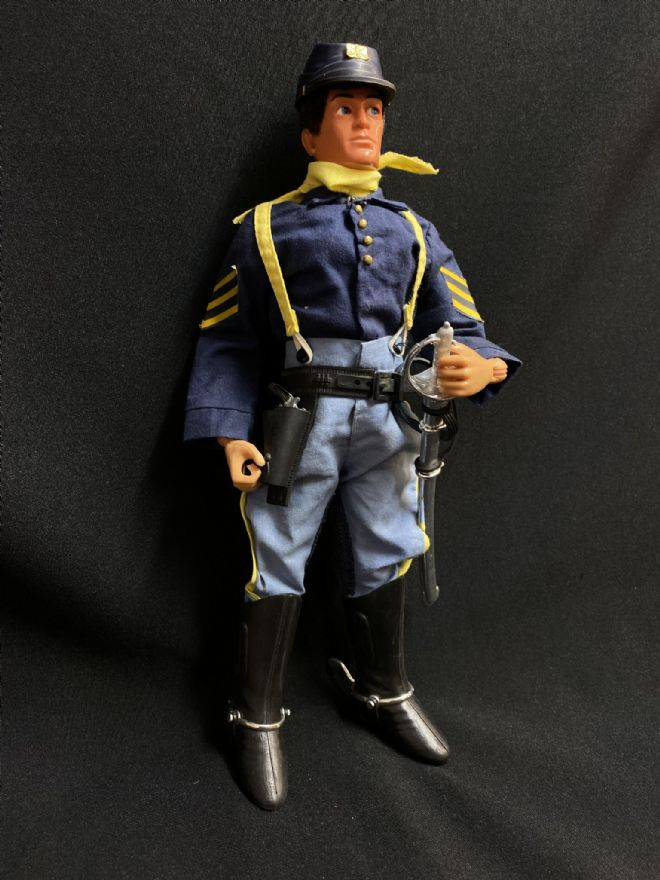 VINTAGE ACTION MAN - 7TH CAVALRY Dressed Figure
